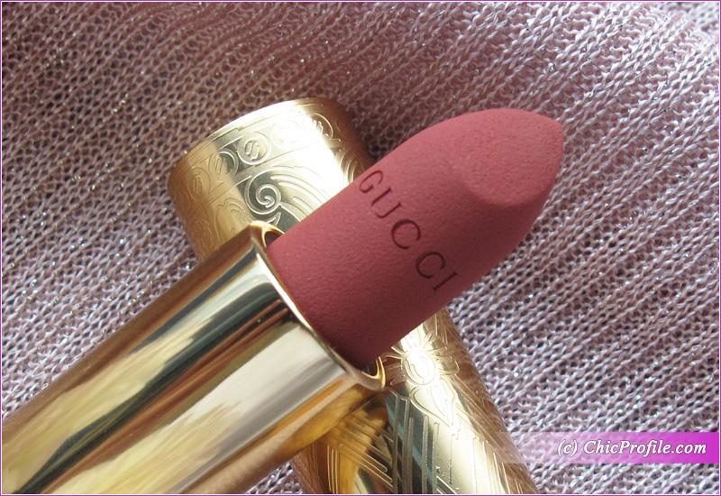 Gucci Ruby Firelight Matte Lipstick Review
