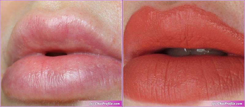 Gucci Matte Lipstick Lip Swatch