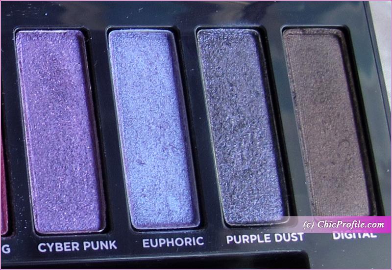 Urban Decay Naked Ultraviolet Palette eyeshadows