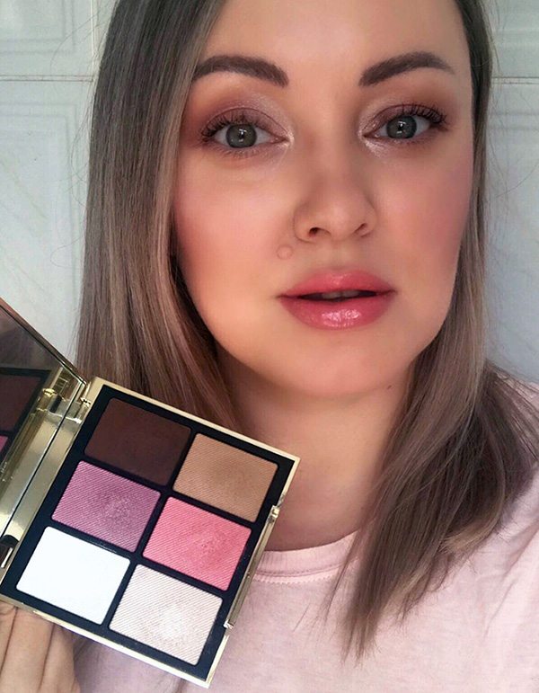 Burberry Essentials Glow Palette Harmony (01) Makeup