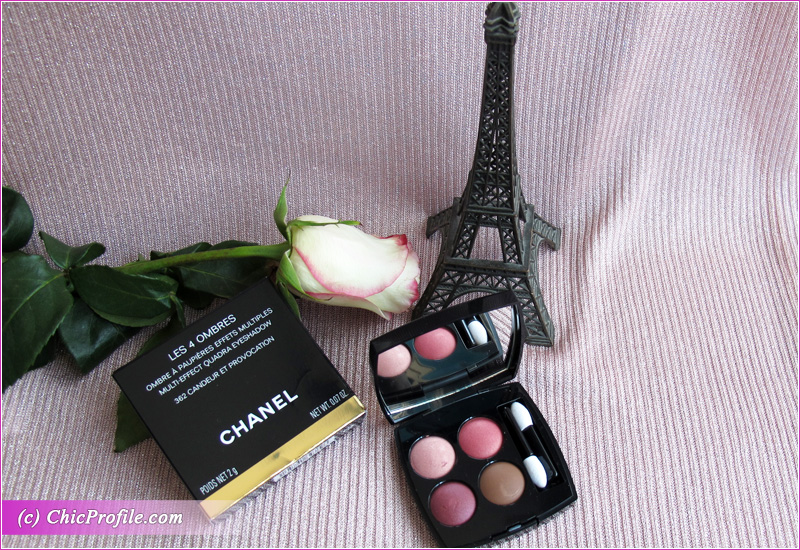Chanel Candeur et Provocation (362) Eyeshadow Quad Review