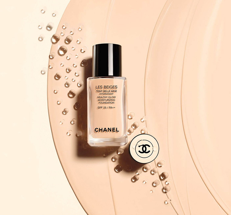 Chanel Les Beiges New Foundation