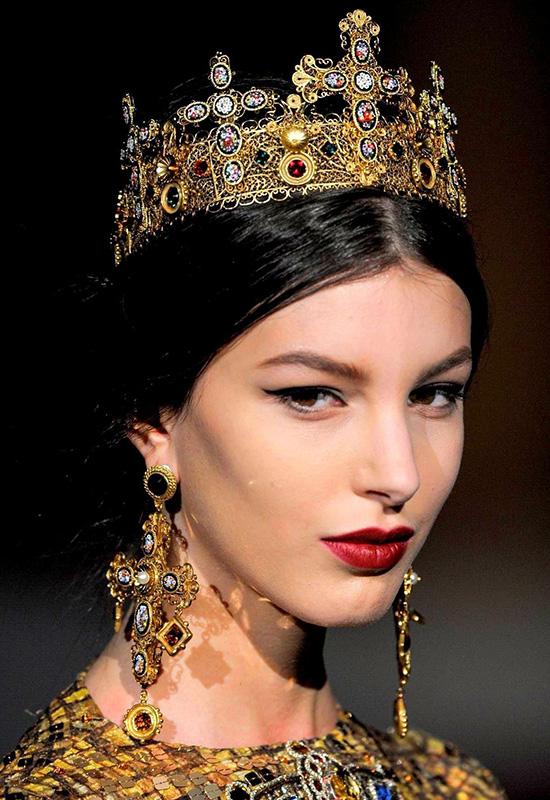 Dolce&Gabbana Holiday 2020 Makeup