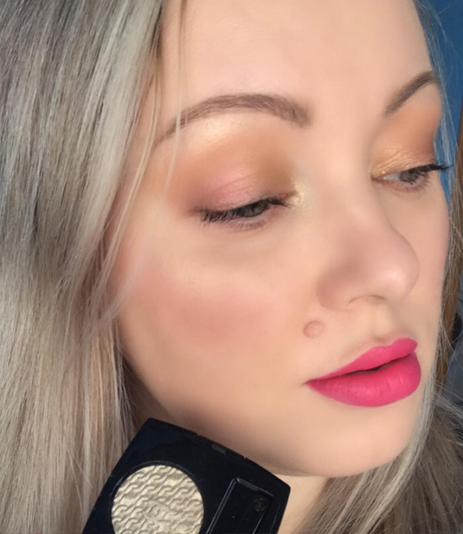 Chanel Holiday 2020 Ombre Premiere Makeup Look