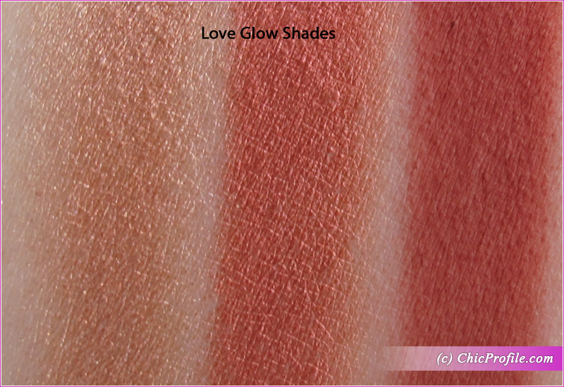 Charlotte Tilbury Bejewelled Love Glow Swatches