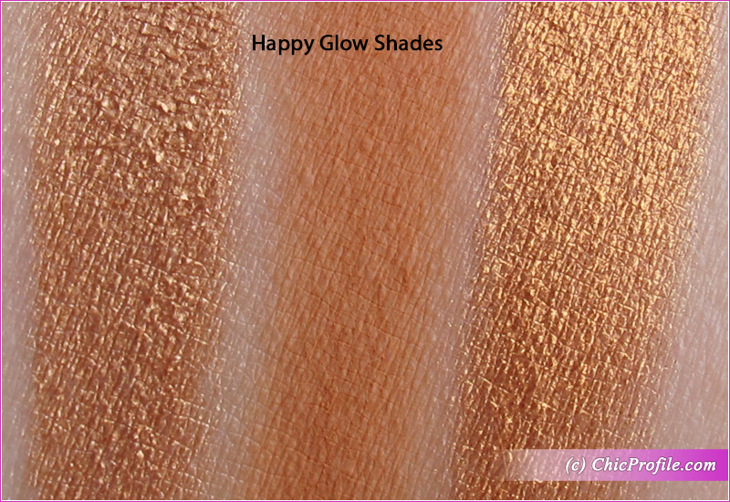 Charlotte Tilbury Bejewelled Happy Glow Swatches