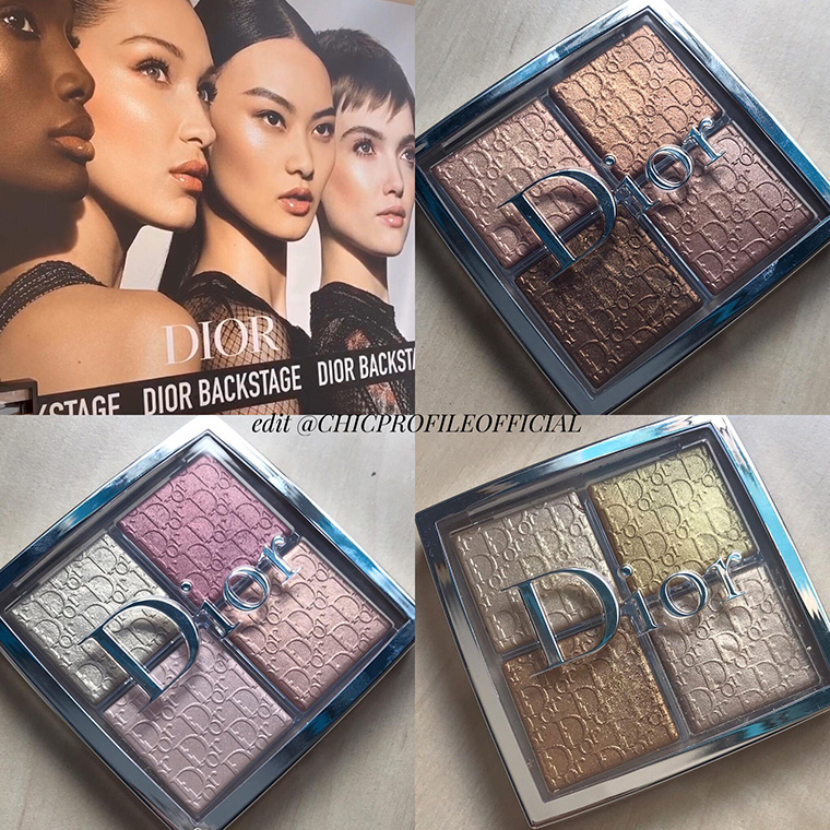 Dior Backstage Glow Face Palettes