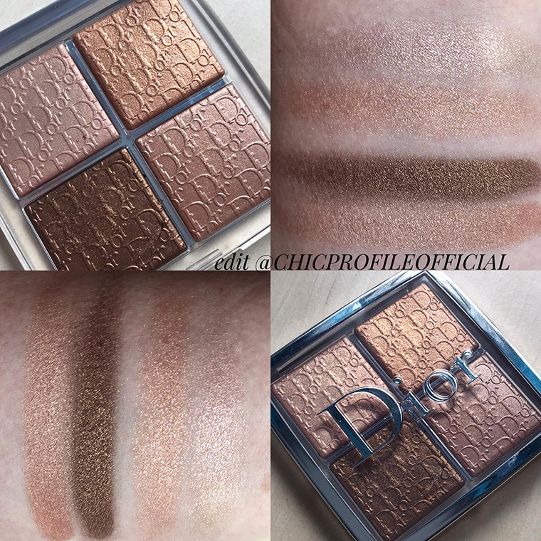 Dior Backstage Glow Face Palette Copper Gold