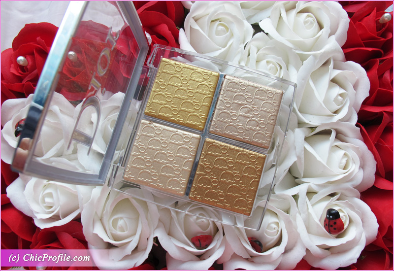 Dior Backstage 003 Pure Gold Glow Face Palette Review Open