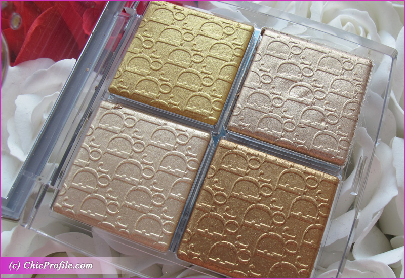 Dior Backstage 003 Pure Gold Glow Face Palette Close Up