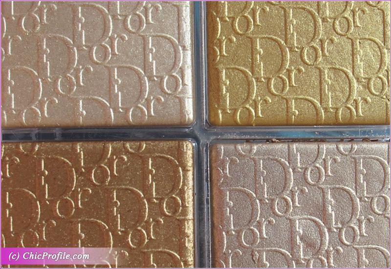 Dior Backstage Pure Gold Palette Close-Up