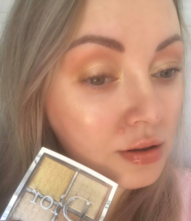 Dior Backstage Pure Gold Makeup