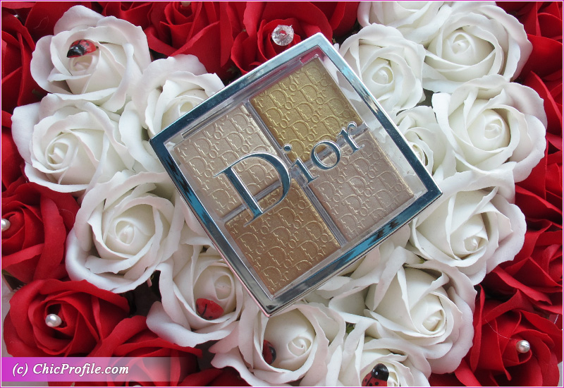 Dior Backstage 003 Pure Gold Glow Face Palette Review