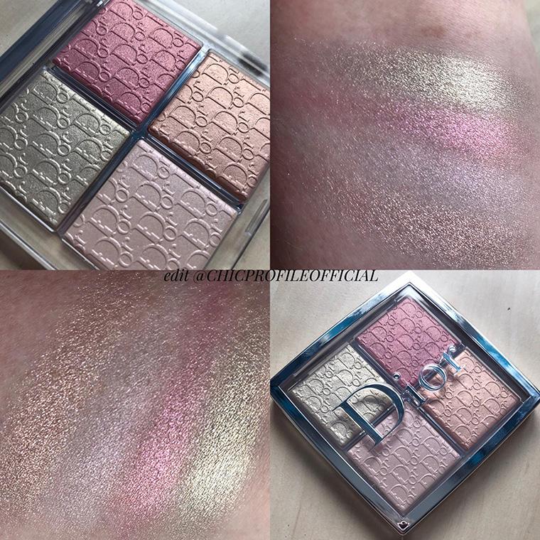 Dior Backstage Glow Face Palette Rose Gold