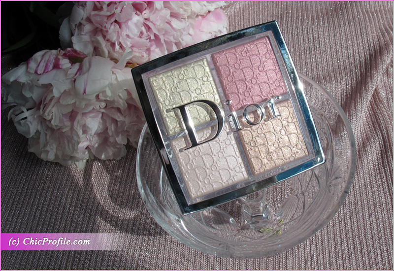 Dior Backstage 004 Rose Gold Glow Face Palette Review