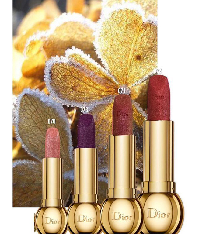 Dior Holiday 2020 Lipsticks