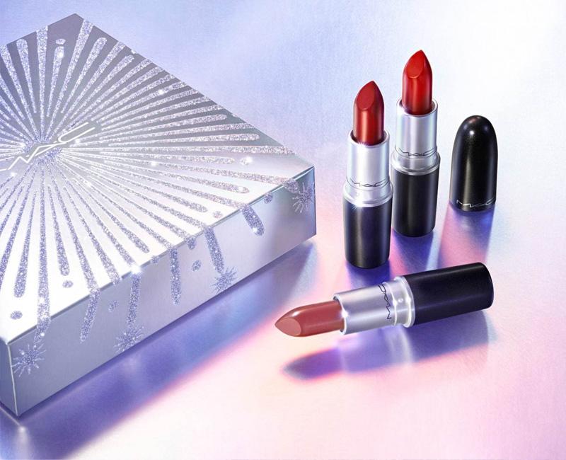 MAC Holiday 2020 Lipstick Trio