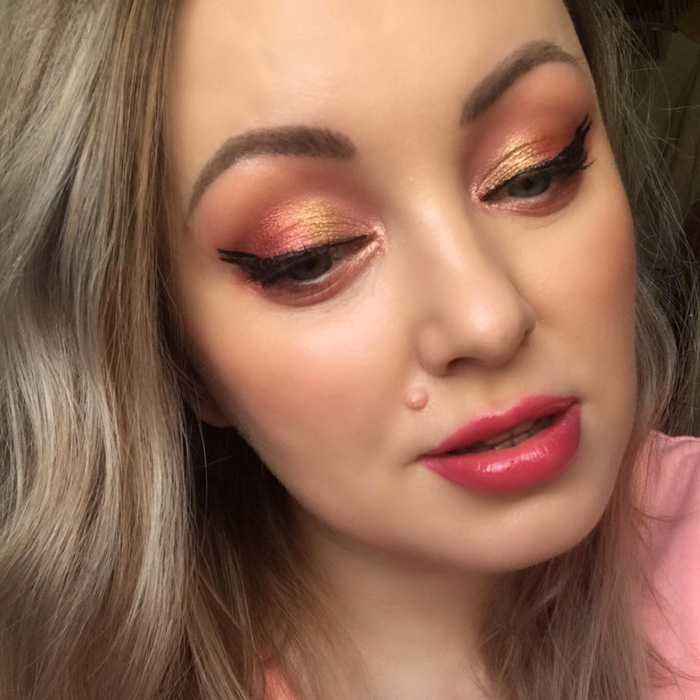 Pat McGrath Rose Decadence Makeup Look Eyeliner