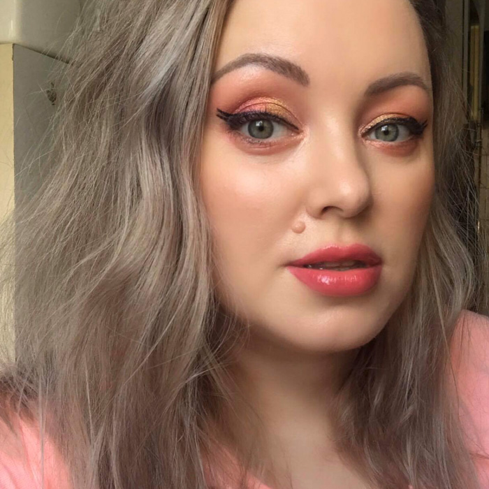Pat McGrath Rose Decadence Eyeshadow Palette Makeup Look