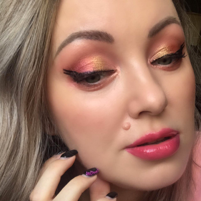 Pat McGrath Rose Decadence Makeup Look