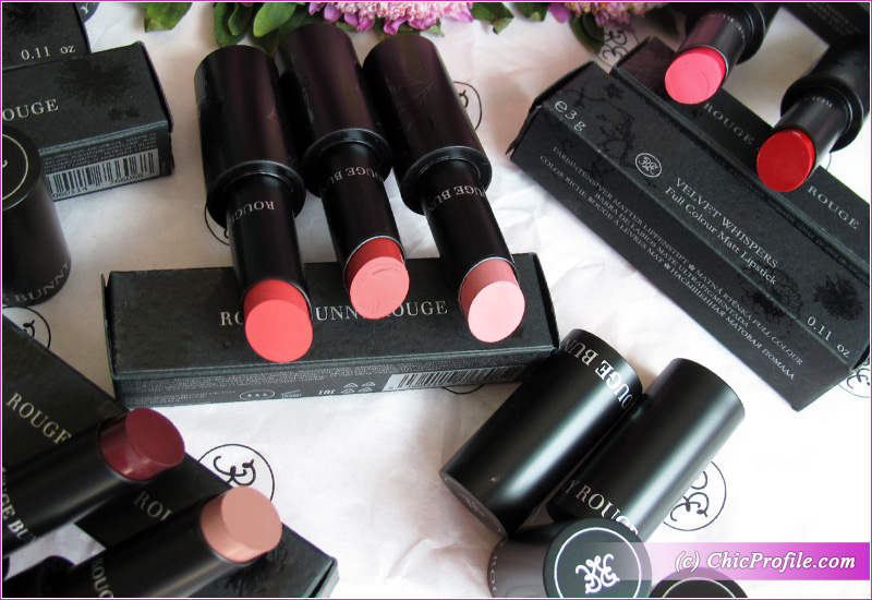 Rouge Bunny Rouge Full Colour Matt Lipsticks Collection