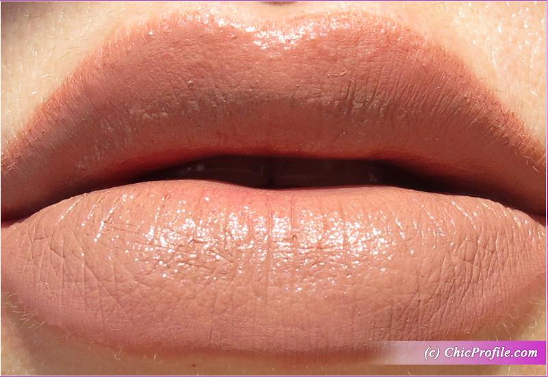 Full Color Matte Lipstick Mirthful Innuendo Lip Swatch
