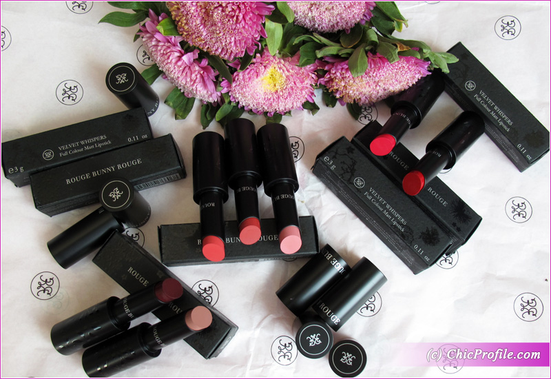 Rouge Bunny Rouge Full Colour Matt Lipsticks Range