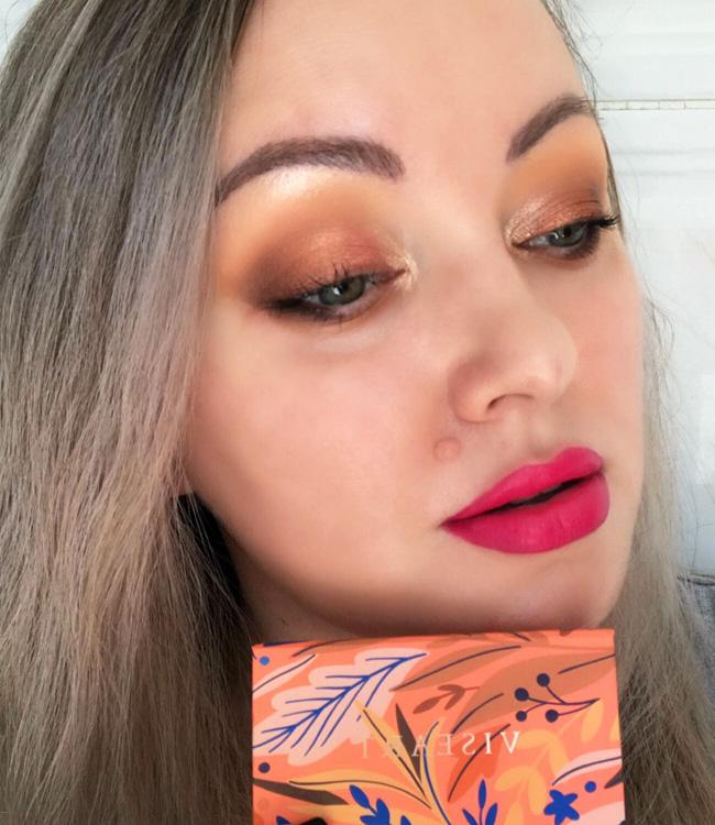 Viseart Apricotine Petit Pro Palette Pink Lips