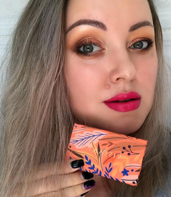 Viseart Apricotine Petit Pro Palette Makeup