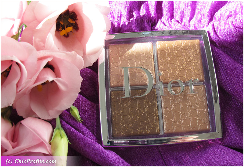 Dior Backstage 005 Copper Gold Glow Face Palette Closed