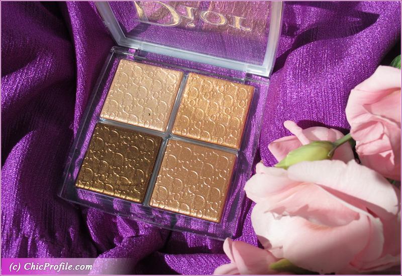 Dior Backstage 005 Copper Gold Glow Face Palette Open