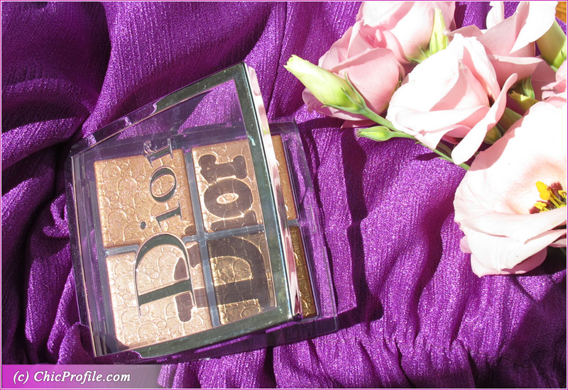 Dior Backstage 005 Copper Gold Glow Face Palette Review