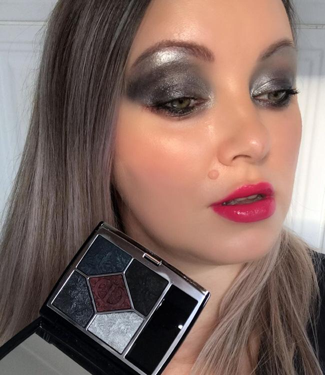 Dior Holiday Black Night Palette Makeup