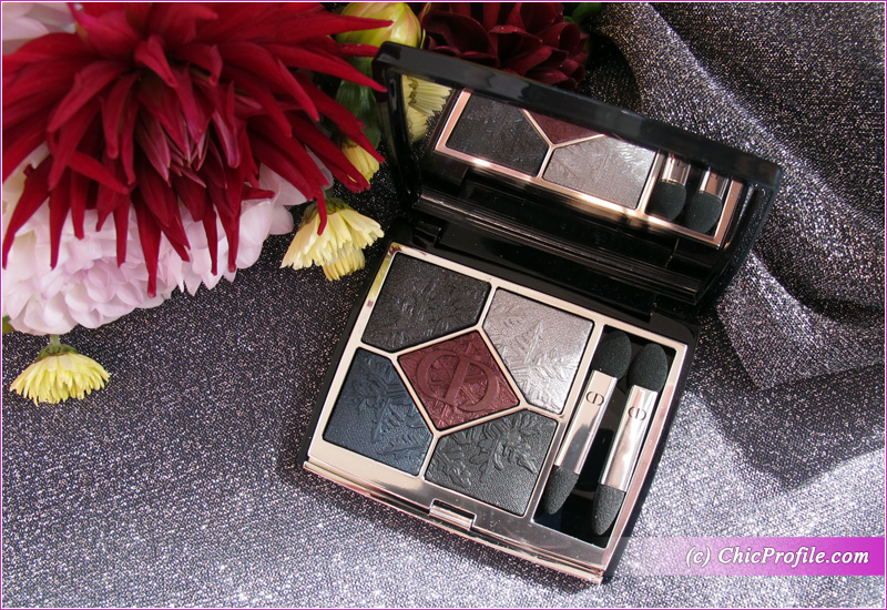 Dior Golden Nights (089) Black Night Eyeshadow Palette Review