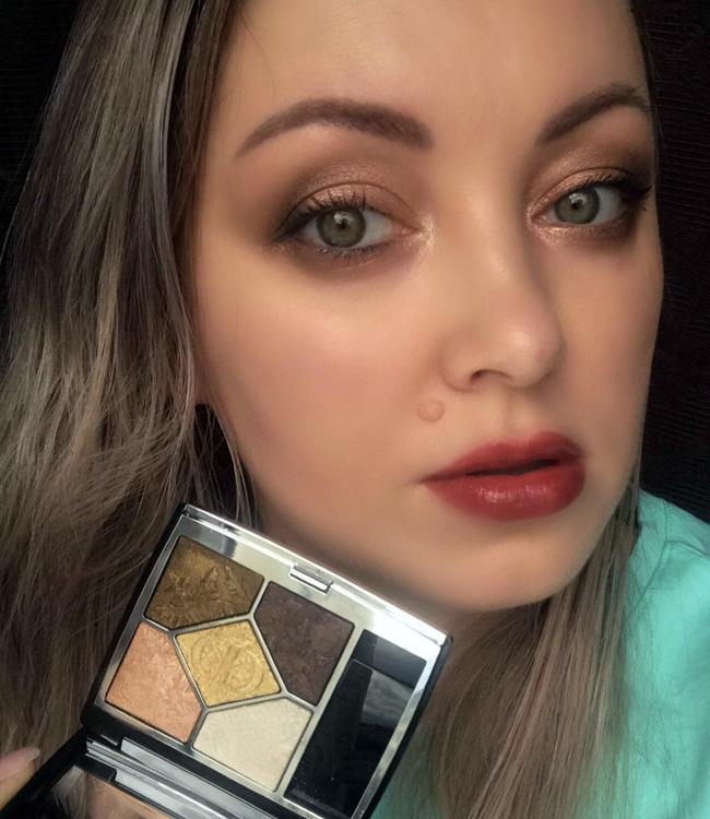Dior Golden Nights (549) Golden Snow Eyeshadow Palette Eye Makeup
