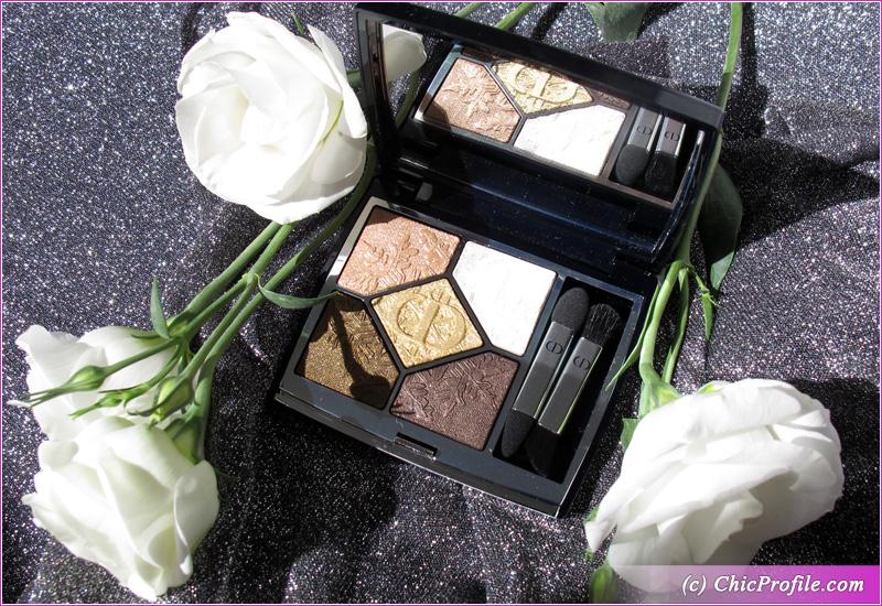 Dior Golden Nights (549) Golden Snow Eyeshadow Palette