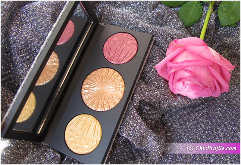 MAC Flashing Ice Extra Dimension Skinfinish Trio (Gold) Open