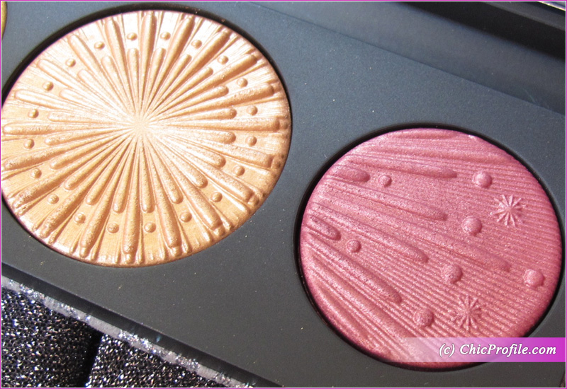 MAC Flashing Ice Extra Dimension Skinfinish Trio (Gold) Center Shade