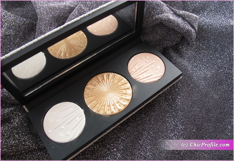 MAC Flashing Ice Extra Dimension Skinfinish Trio (Light) Palette