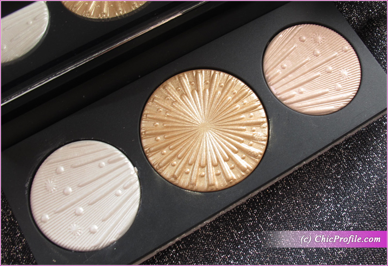 MAC Flashing Ice Extra Dimension Skinfinish Trio (Light) Close Up