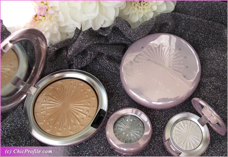 MAC Let It Glow and Flare for the Dramatic Extra Dimension Skinfinish Packaging