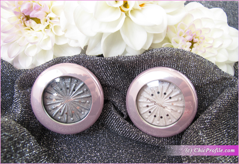 MAC Silver Bells & Cooler Than Being Cool Extra Dimension Foiled Eyeshadows