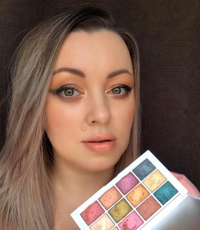 Makeup by Mario Master Metallics Eyeshadow Palette Makeup Look