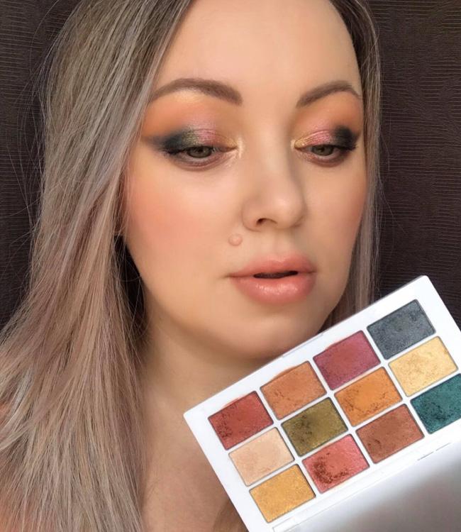 Makeup by Mario Master Metallics Eyeshadow Palette Makeup Look 1