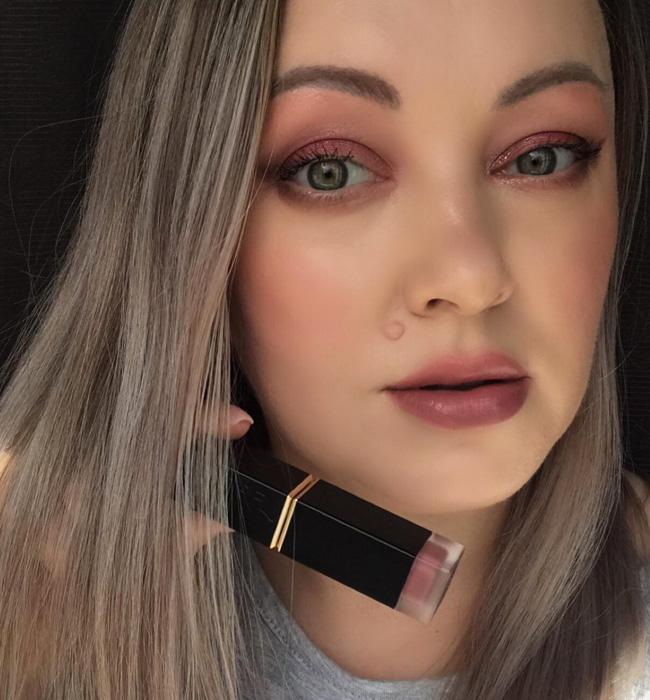 SUQQU Comfort Lip Fluid Fog 103 Makeup Look