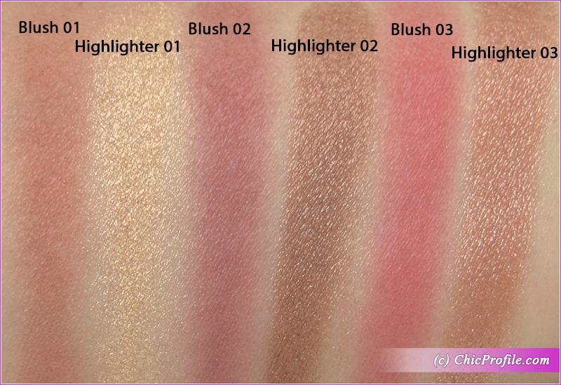 SUQQU Powder Blush Compact 102 Swatches
