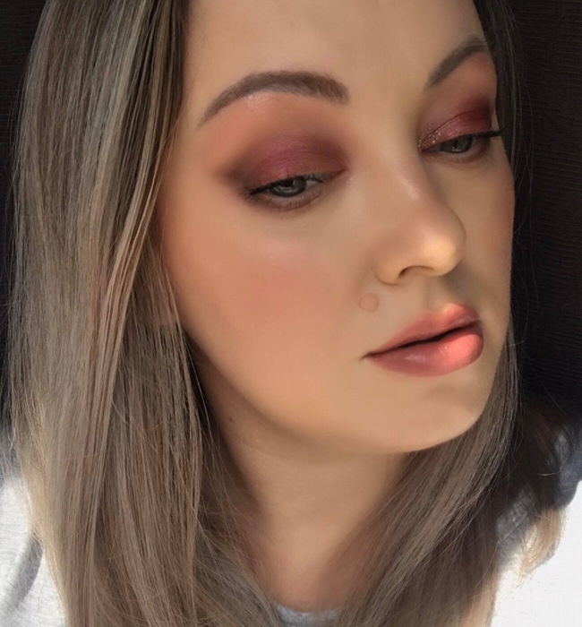 SUQQU Pre-Holiday 2020 Blush Compact Makeup Look