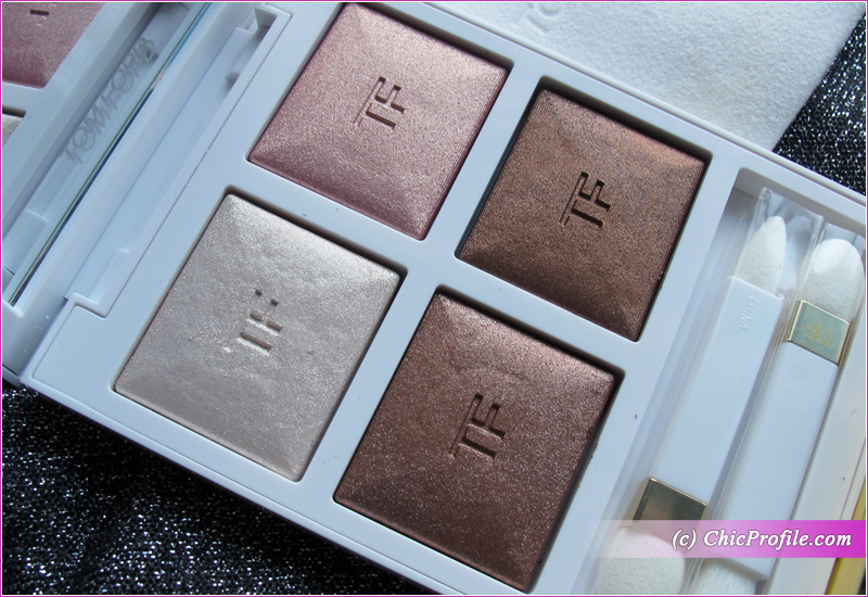Tom Ford First Frost Eye Color Quad Close-Up