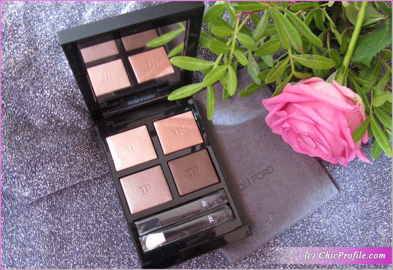 Tom Ford Nude Dip Eye Color Quad Open