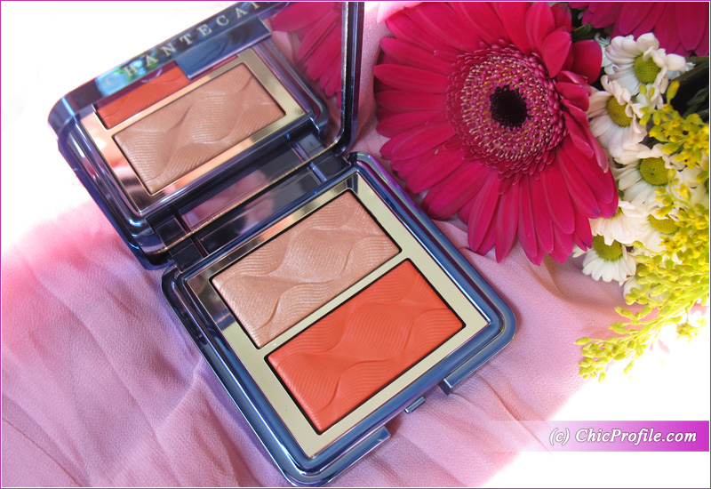 Chantecaille Coral Radiance Chic Cheek and Highlighter Duo